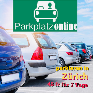 Günstigster Parkplatz Zürich